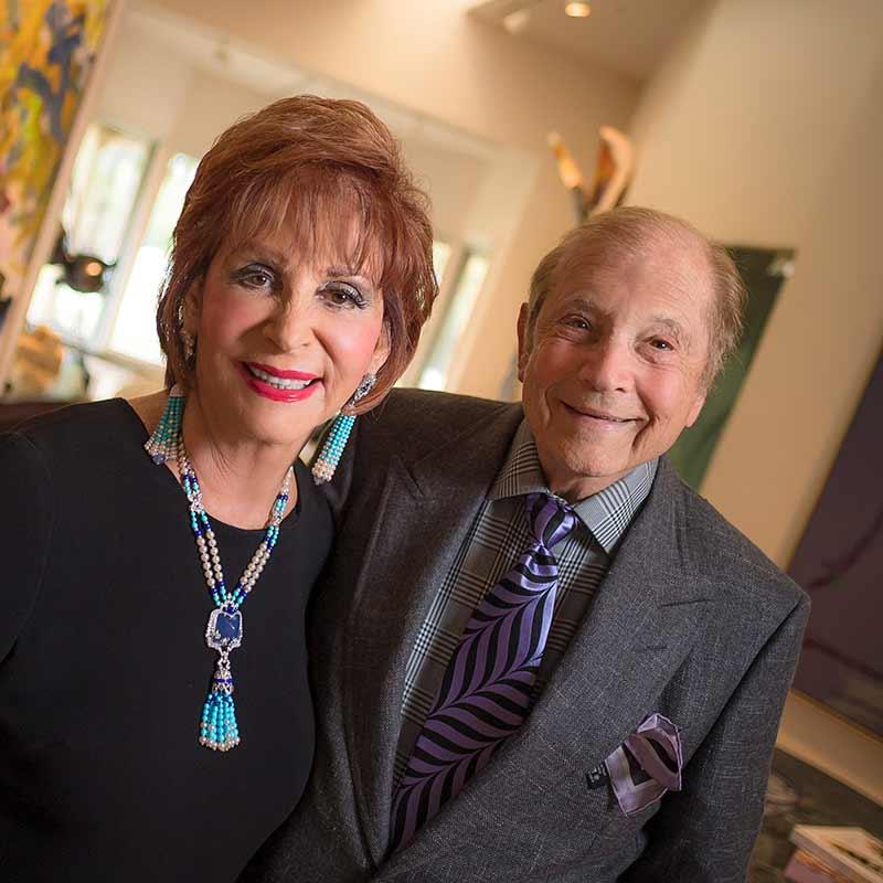 Iris Lynn and Matthew Strauss