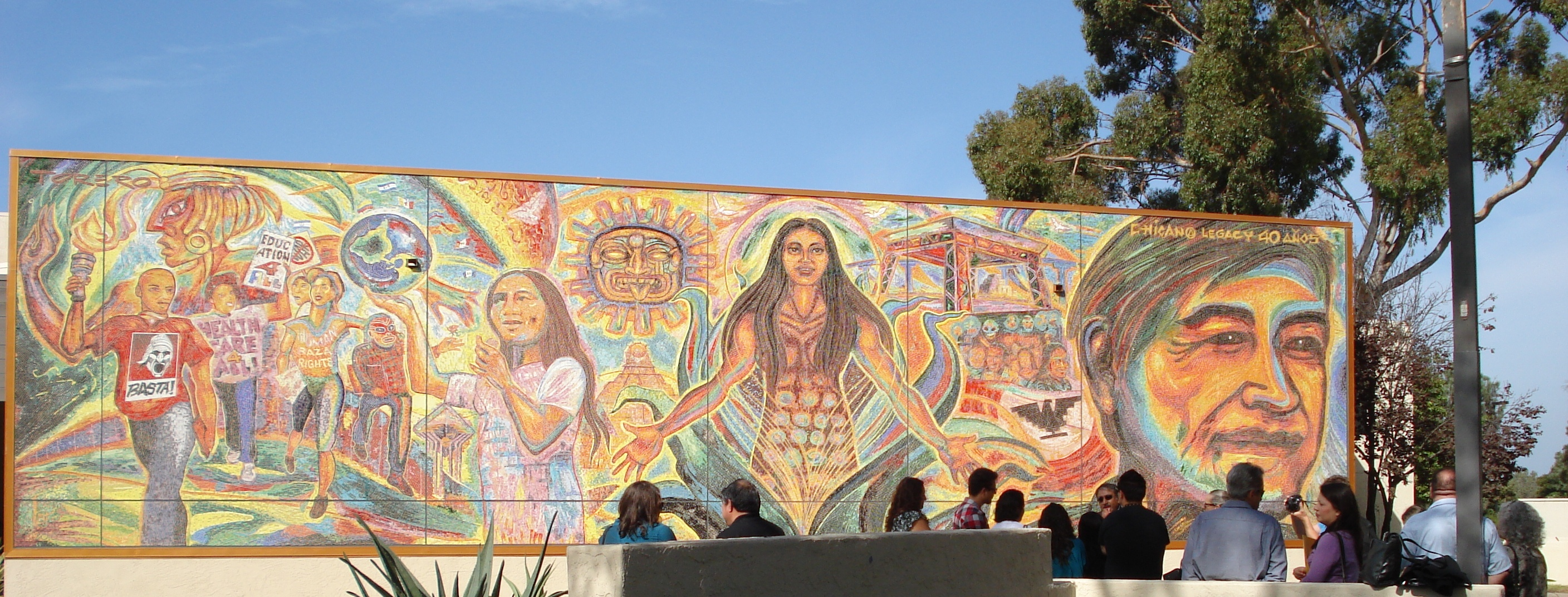 From chancellor khosla for Mural chicano
