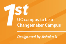 First UC campus to be a Changemaker Campus. UC San Diego 2017 statistic