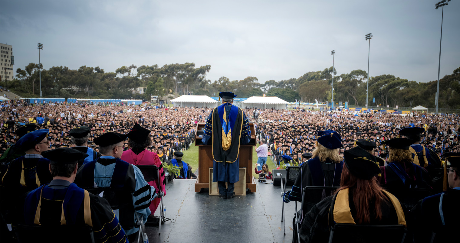 Chancellor Khosla Addresses UC San Diego Class of 2019