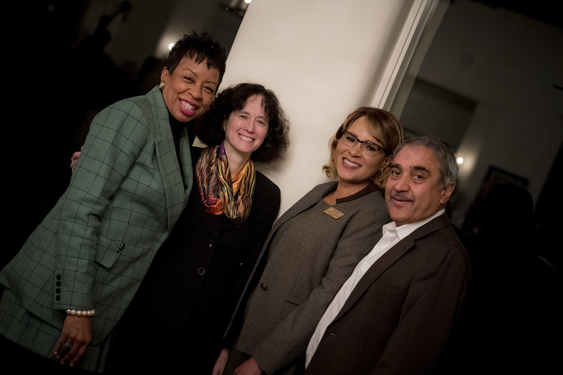 Dr. Helen Griffith, Dr. Elizabeth Simmons, Dr. Becky Pettit, Dr. Pradeep Khosla at an event honoring Dr. Griffith