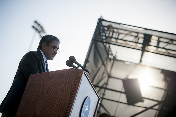 Chancellor Khosla speaks at UC San Diego's New Student Convocation