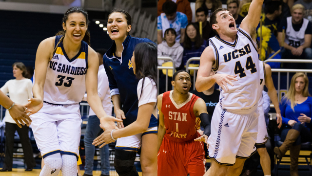 UC San Diego women's and men's basketball team