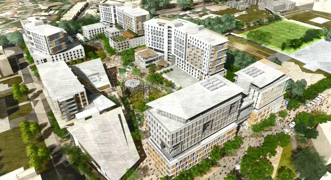 UC San Diego campus rendering
