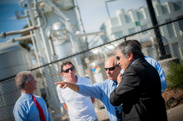 Chancellor Khosla went on a behind-the-scenes tour to see what makes UC San Diego a leader in energy conservation and sustainability, and one of the nation's greenest universities.
