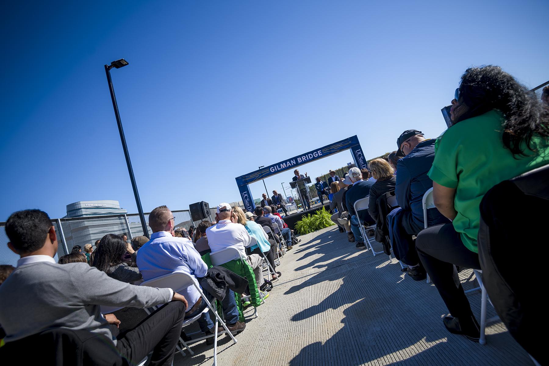 Gilman Bridge opening celebration
