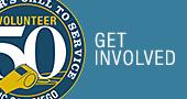 Volunteer50: Get Involved.